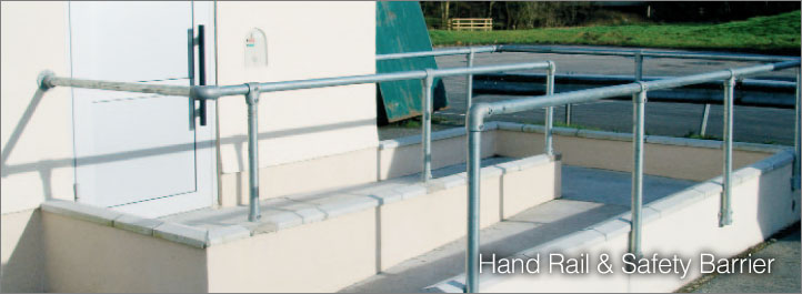 Hand Rail & Safety Barrier